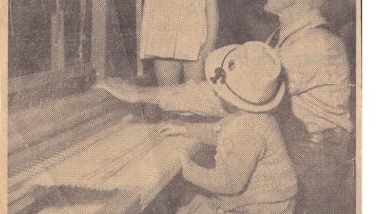 Johan Algot Johansson från kulturutställningen 1949