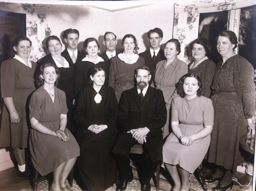 Familjen Elin & August Wahllöf