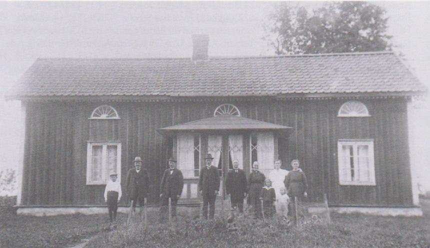 Klockaregården huset revs 1925 Skörstorp