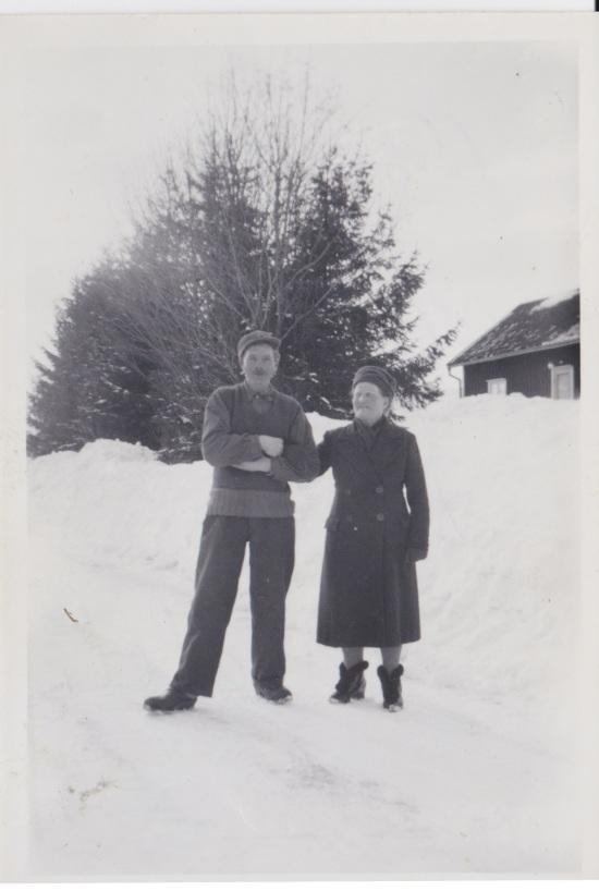 Oscar och Hildur i Dalen 1950 talet