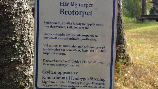 Torpgrund nr 25, Brotorpet, Krakaviken
