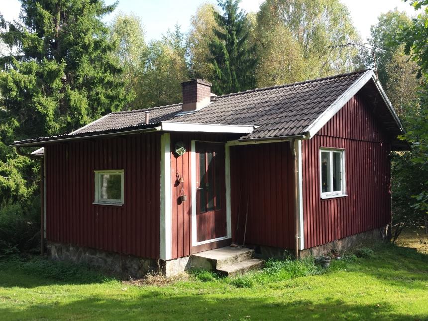 Huset som finns i dag på Brotorp