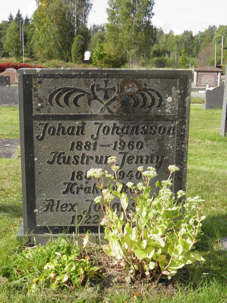 Berta Johanssons föräldrar Johan Algot Andersson och Jenny Hildegard Persdotter