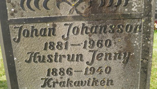 Johan Algot Andersson och Jenny Hildegard Persdotter