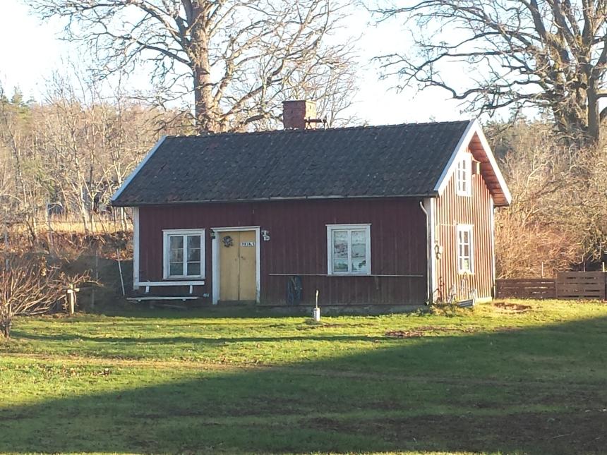 Gammalt hus vid Brogården, Äbbarp