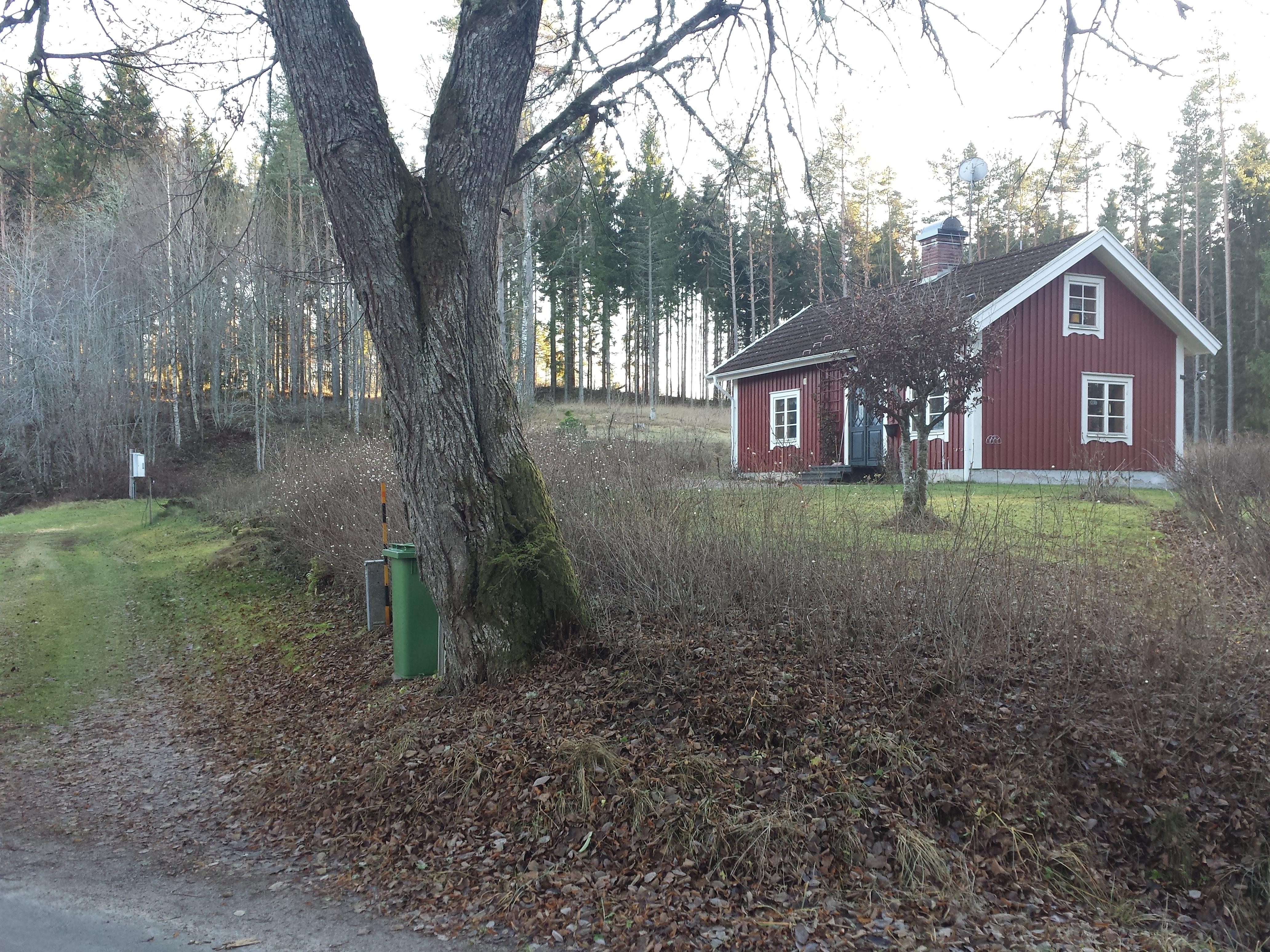 Norkatorpet. Precis ovanför Norkatorpet finns resterna av Björkbacken