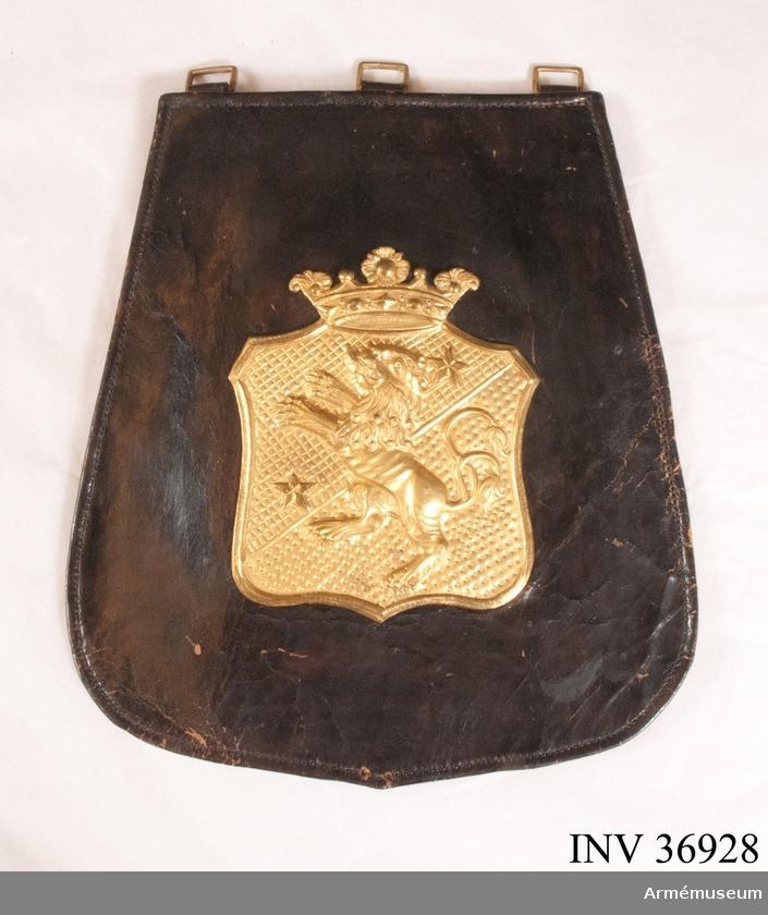 Sadeltask Västgöta Regemente 1797