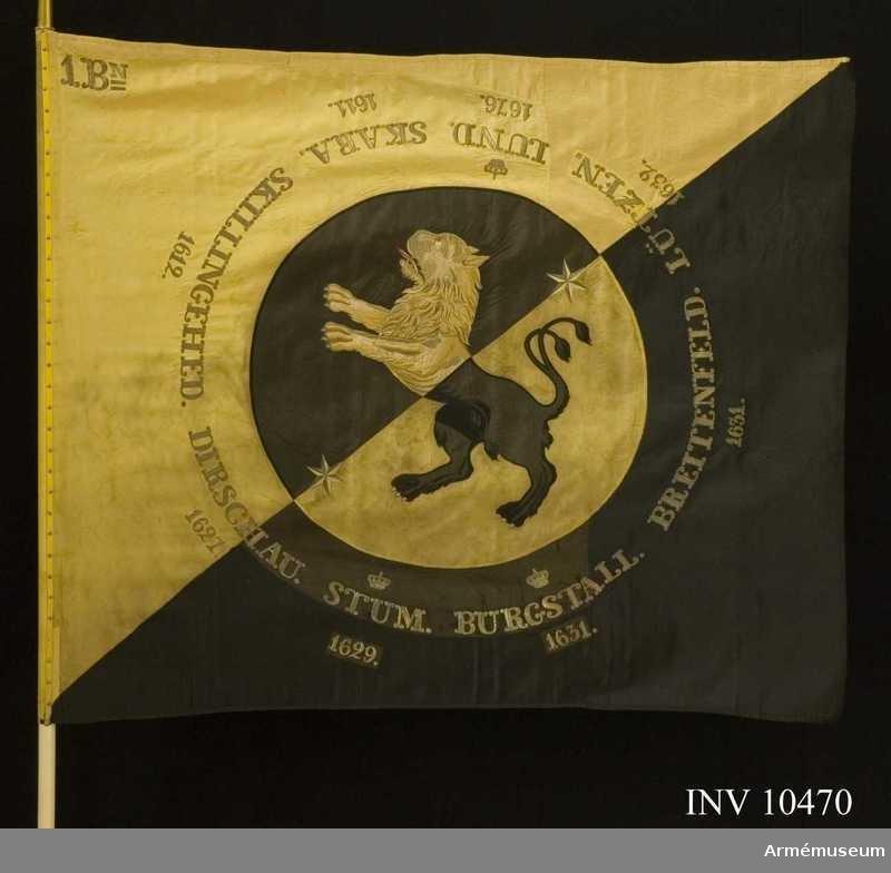 tgöta regementes fana 1850