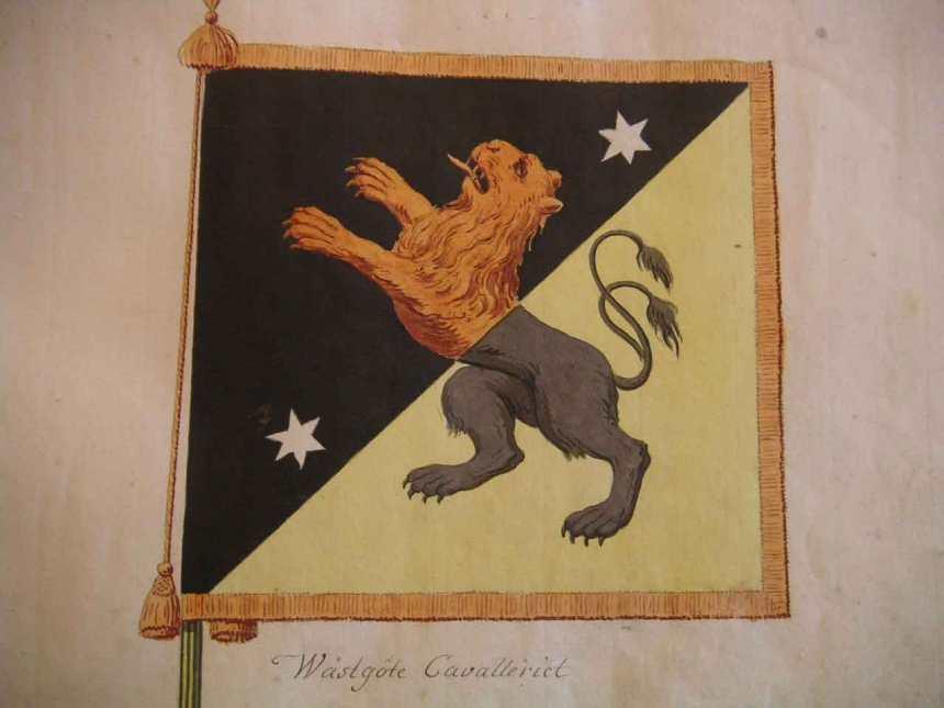 Kungliga Wästgötha Cavallerie Regementet