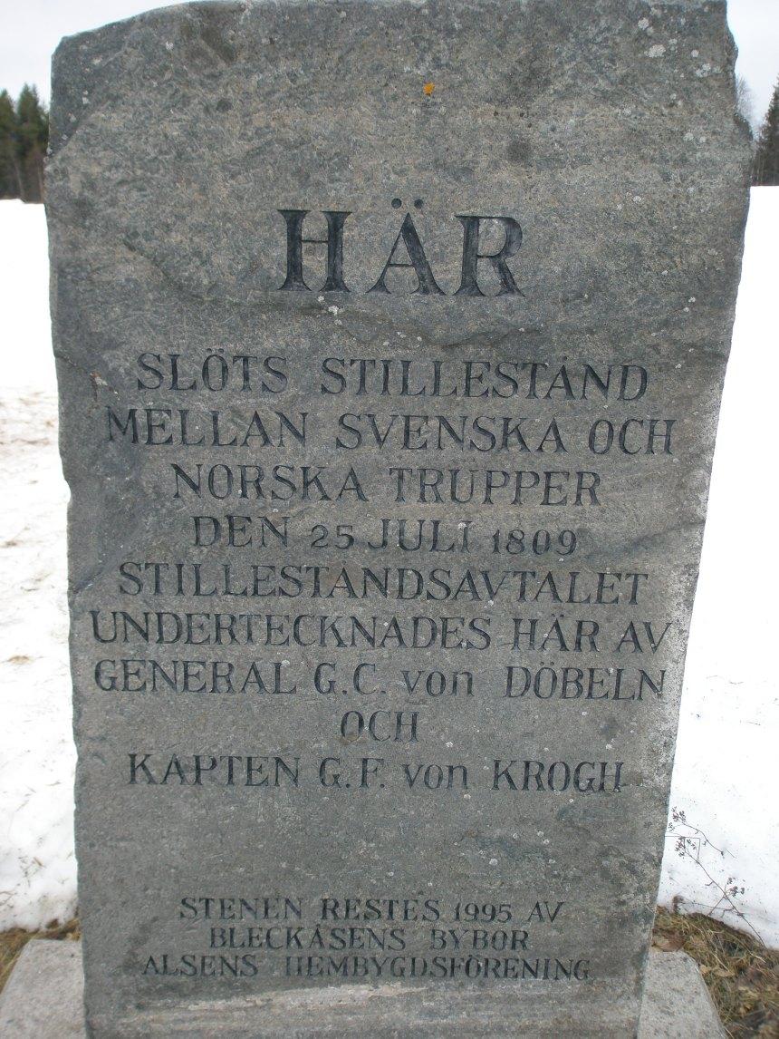 Stillestånd med Norge