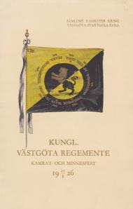 Kungl Västgöta regemente 1926