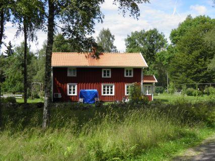 Äldsta huset i byn. Huset är från från det laga skiftet