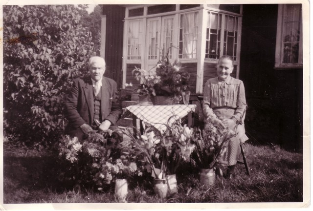 Alma Josefina Klasdotter och Gustav Adolf Pettersson