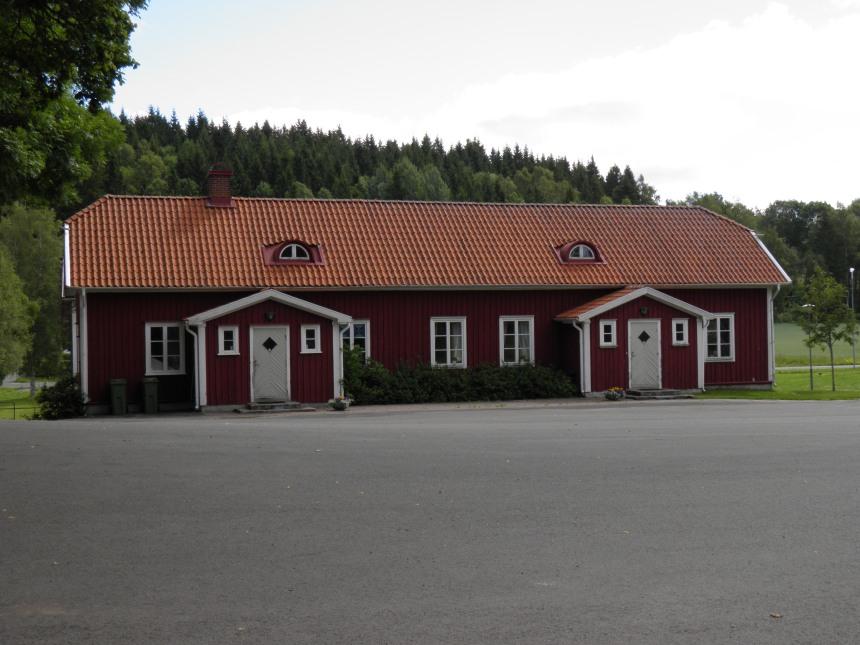 Sandhems församlingshem som tidigare var bla skolbespisning