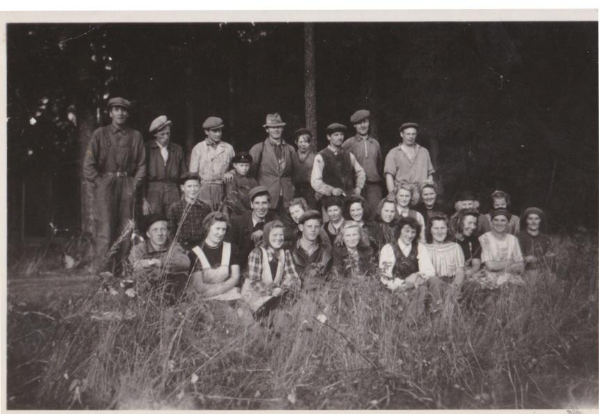 Potatisplockning Gimmene 1944