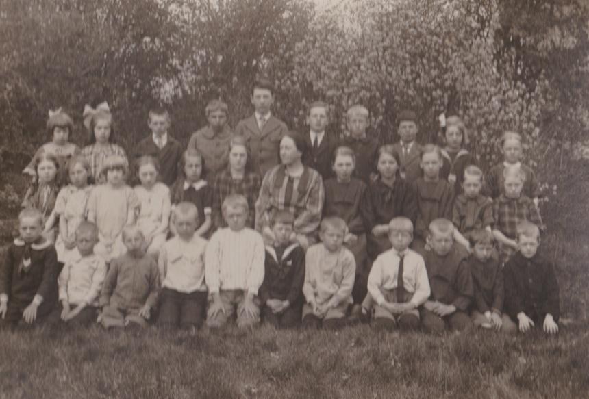 Skolfoto 1928, Sjöbacka skola