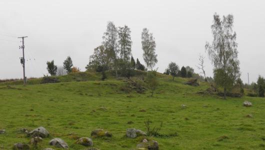 Gravfält från 500 före Kristus fram till 1050 efter Kristus i Suntak
