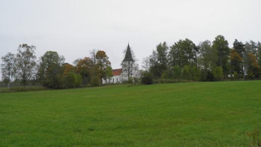 Suntak nya kyrka från 1909