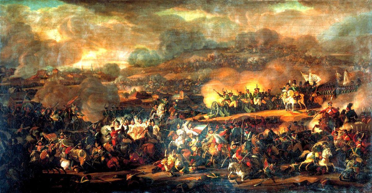 Lars Fin slogs i slaget vid Leipzig 1813 (del 1)