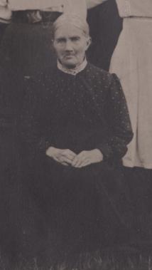 Soldatänkan Gustava Johansdotter Kron född 1820 död 1916