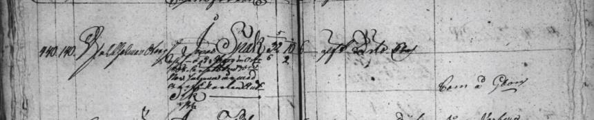 Soldat Jonas Spak avlider i Göteborg 1808 i kriget mot Danmark