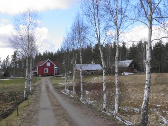 Brobacka soldatboställe under Ingemarstorp (Agnetorp) där soldat 894 Jean Tiberg levde