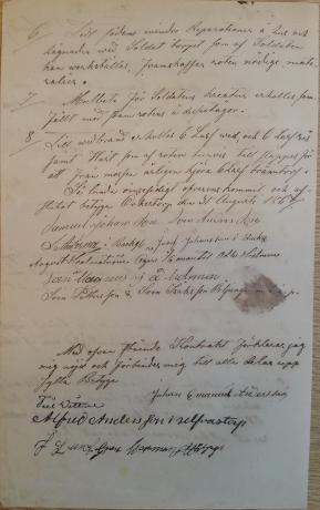 Soldatkontrakt för 423 Johan Emanuel Gill Gäsendes kompani för Örkestorp i Od 1867-09-20 sid 2
