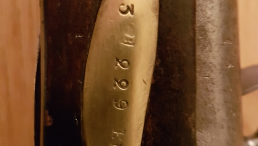 Svensk flintlås musköt modell 1762 - Vapnets nummer