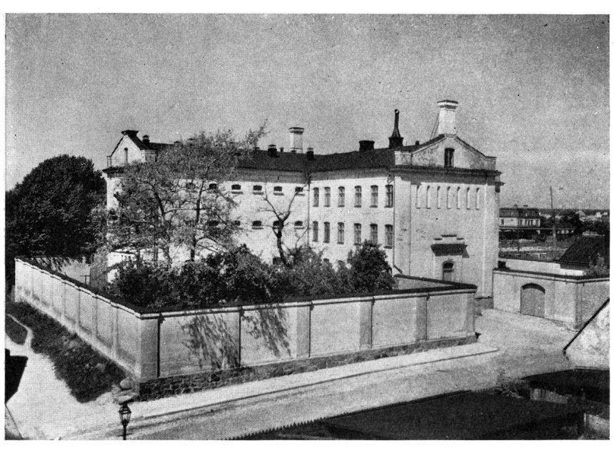 Fängelset i Karlskrona där Andreas avtjänade en del av sitt livstidsstraff som fånge No 274 1880-12-07 till 1882-03-01