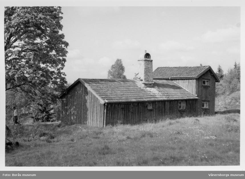 Stuga i Fagerhult (Bild från Vänersborgs museum)